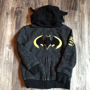 Other - Batman hooded sweatshirt with mask